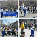 BAND AND CHEERLEADERS AT YONKERS MCLEAN AVE ST. PATRICK'S PARADE photo album thumbnail 2